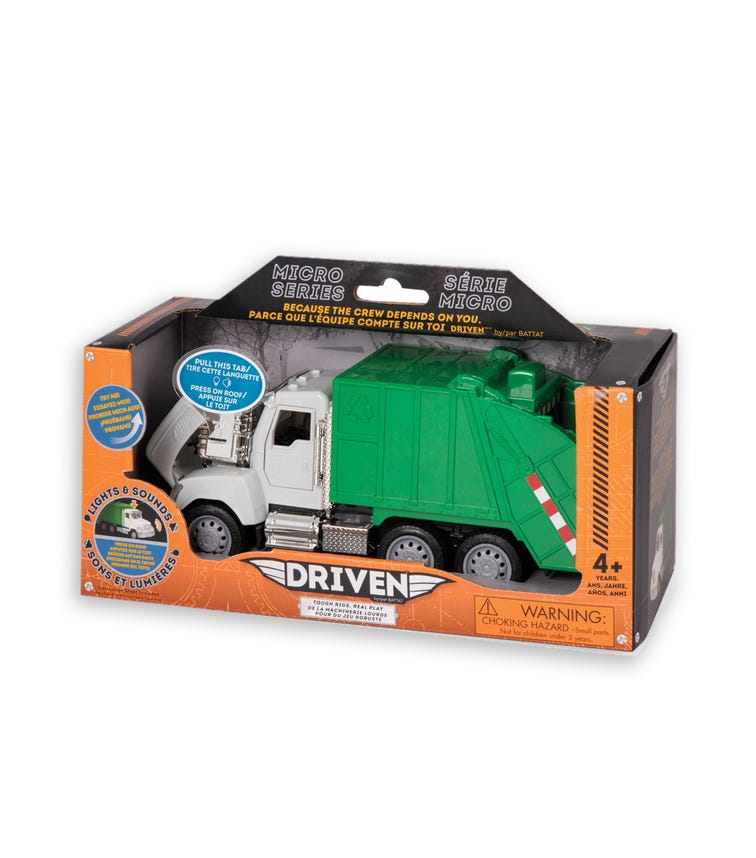 DRIVEN Micro Recycling Truck