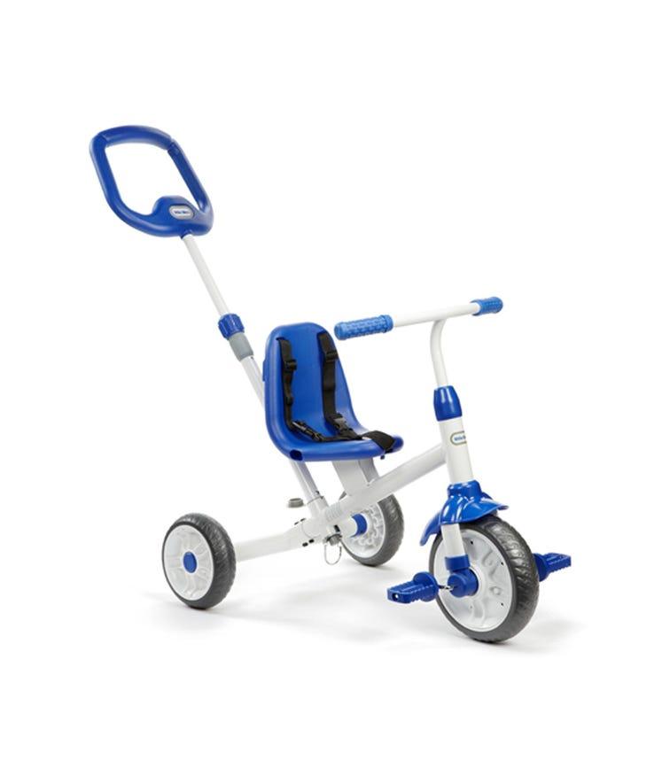 LITTLE TIKES Ride 'N Learn 3 In 1 Trike Blue
