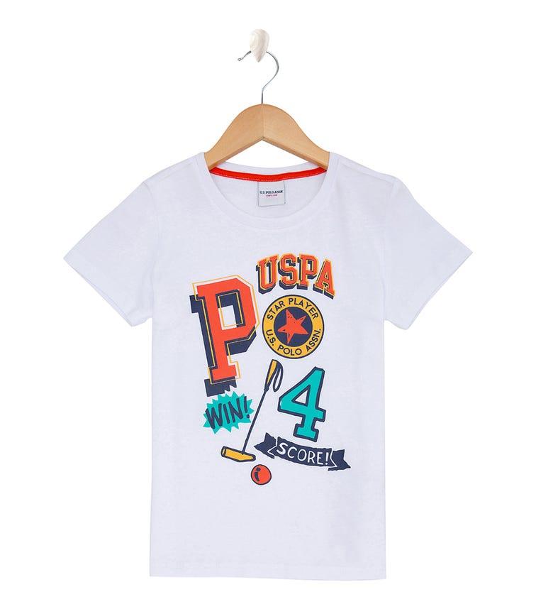 US POLO ASSN. - Logo T Shirt White