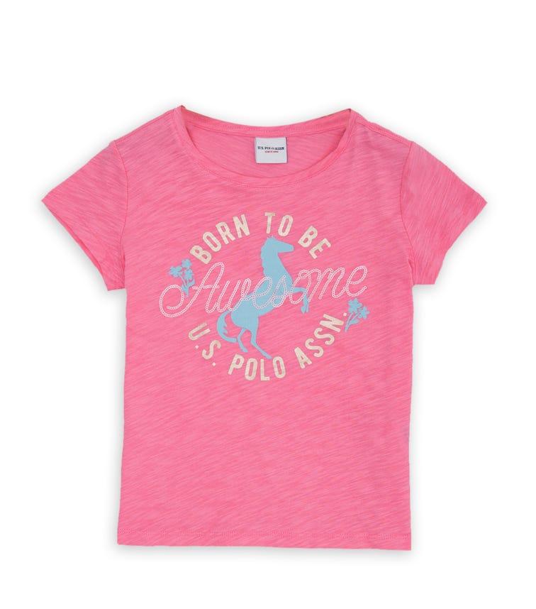 US POLO ASSN. - Classic T Shirt Pink