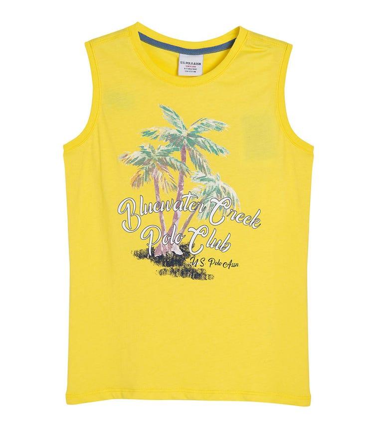 US POLO ASSN. - Classic T Shirt Yellow