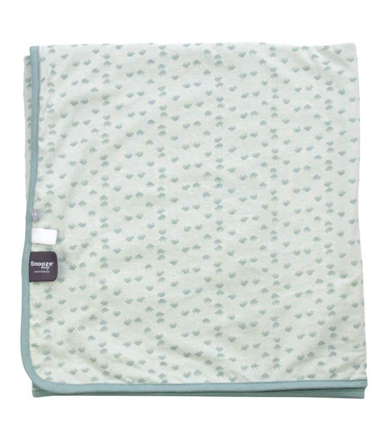 SNOOZEBABY Blanket Summer Crib Grey Mist