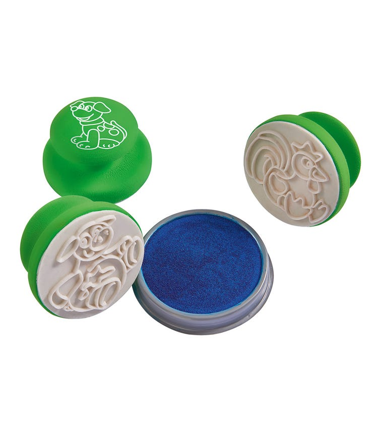 SIMBA A&F 3 Soft Stamps In Tube 3 Assorted