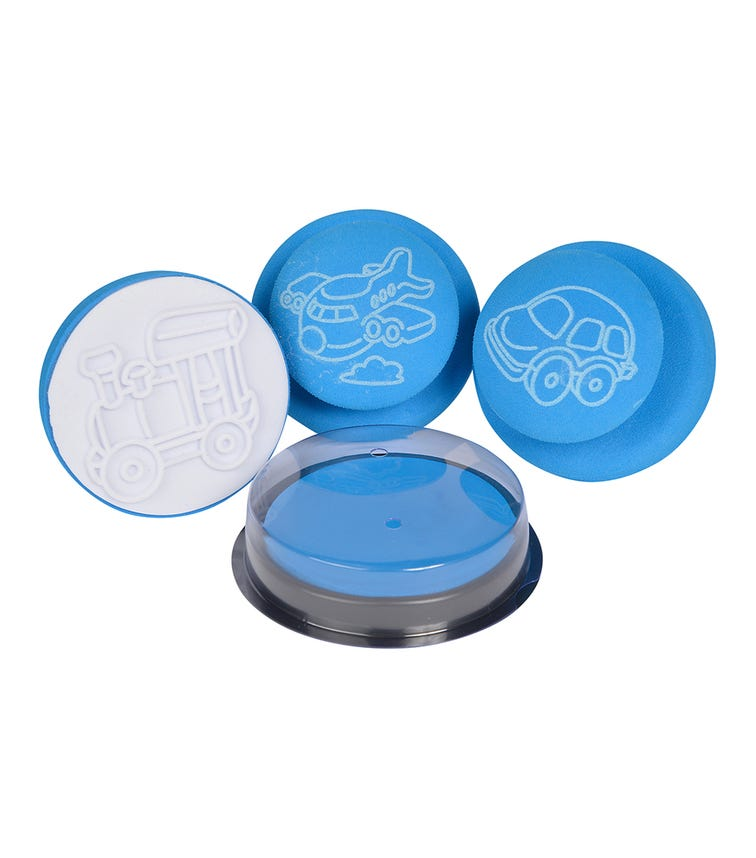 SIMBA A&F 3 Soft Stamps 3 Assorted
