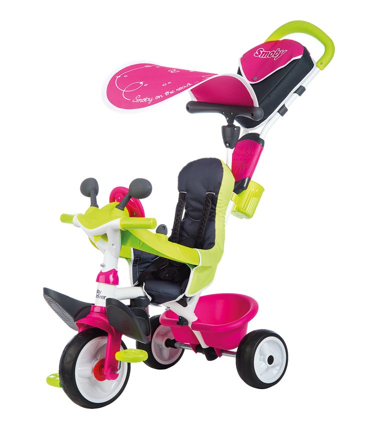 SMOBY Baby Driver Comfort 2 Pink