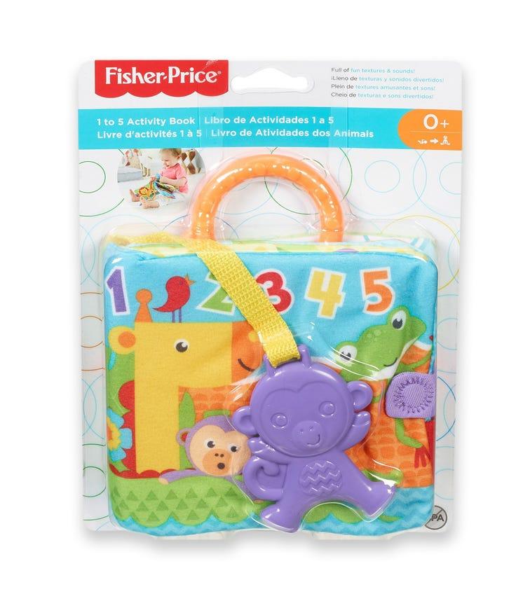 FISHER PRICE Newborn 1-5 Activity Book