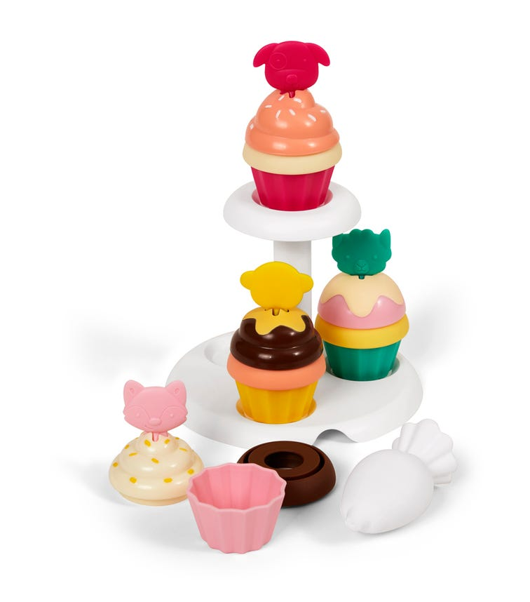 SKIP HOP Zoo Sort And Stack Cupcakes