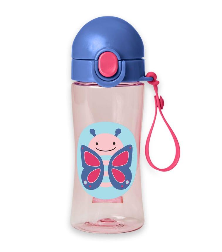 SKIP HOP Zoo Sport Bottle Butterfly