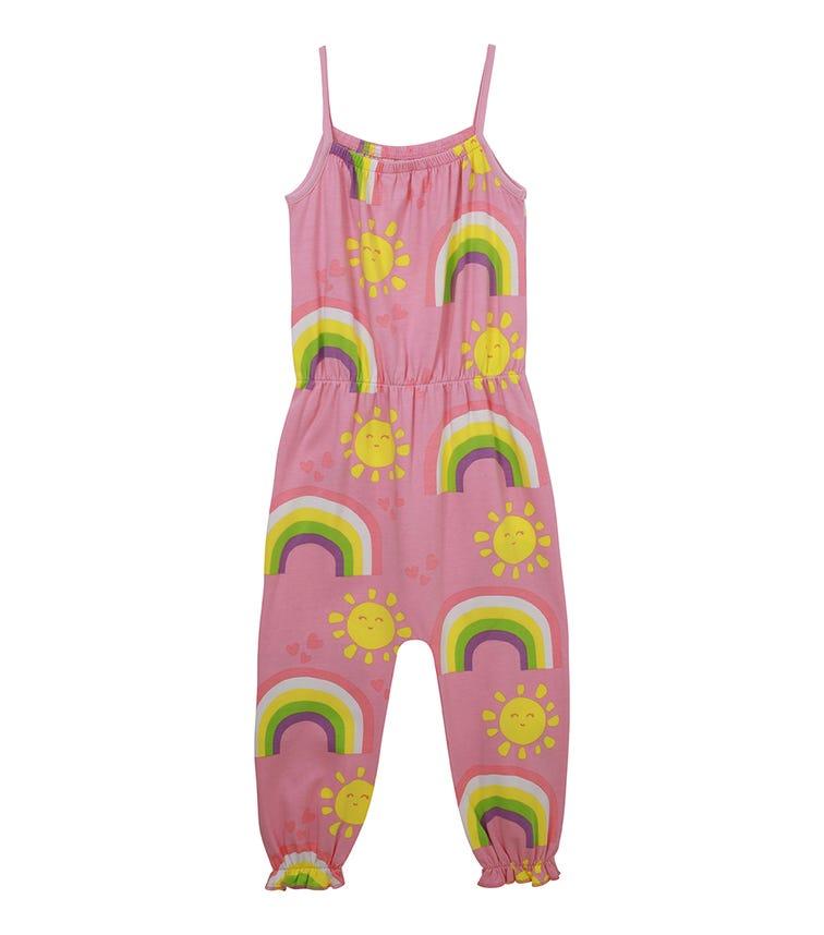 ORGANIC KID Rainbow Jumpsuit, Sleeveless