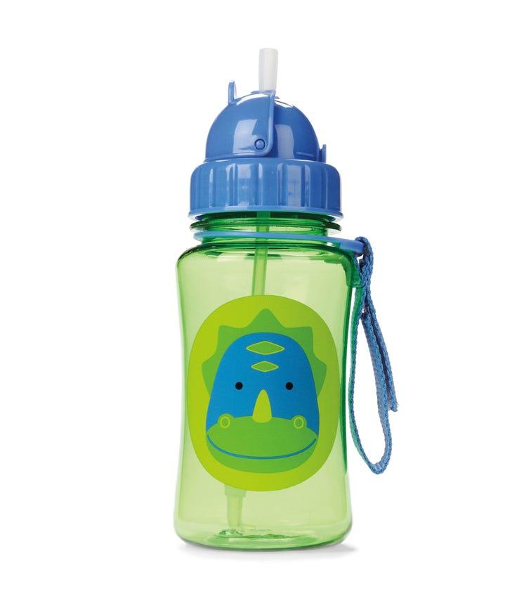 SKIP HOP Zoo Straw Bottle Dinosaur