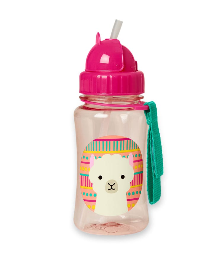 SKIP HOP Zoo Straw Bottle Llama