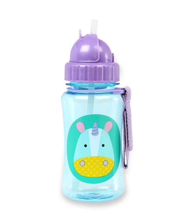 SKIP HOP Zoo Straw Bottle Unicorn