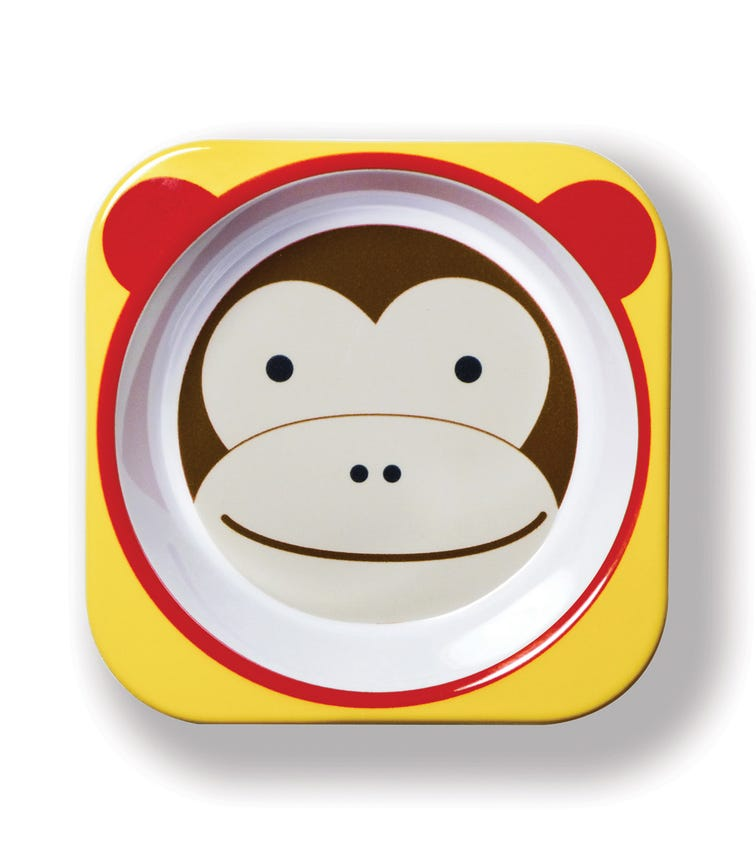 SKIP HOP Zoo Tableware Set Monkey