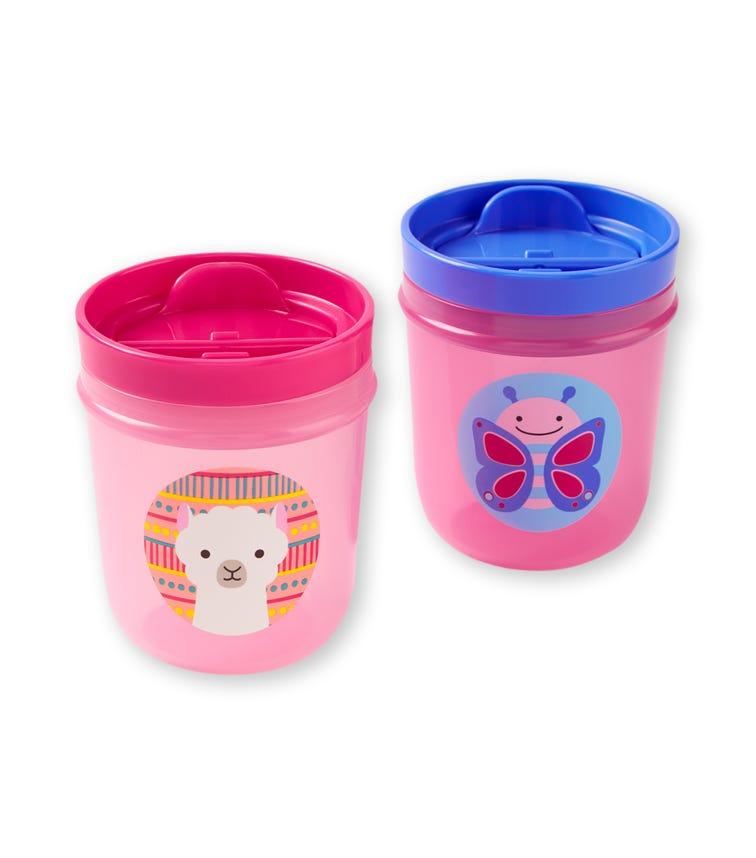 SKIP HOP Zoo Tumbler Cup Butterfly/Llama