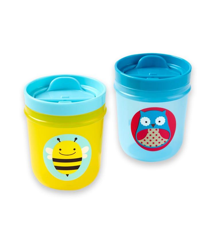 SKIP HOP Zoo Tumbler Cup Owl/Bee