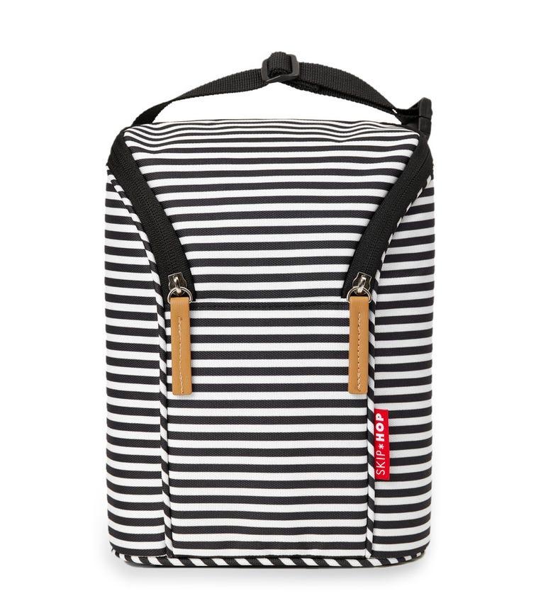 SKIP HOP Grab & Go Double Bottle Bag Stripes