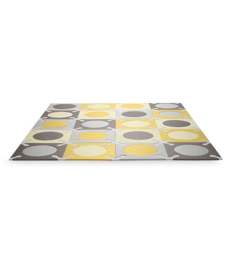 SKIP HOP Playspot Floor Tiles Gold & Grey