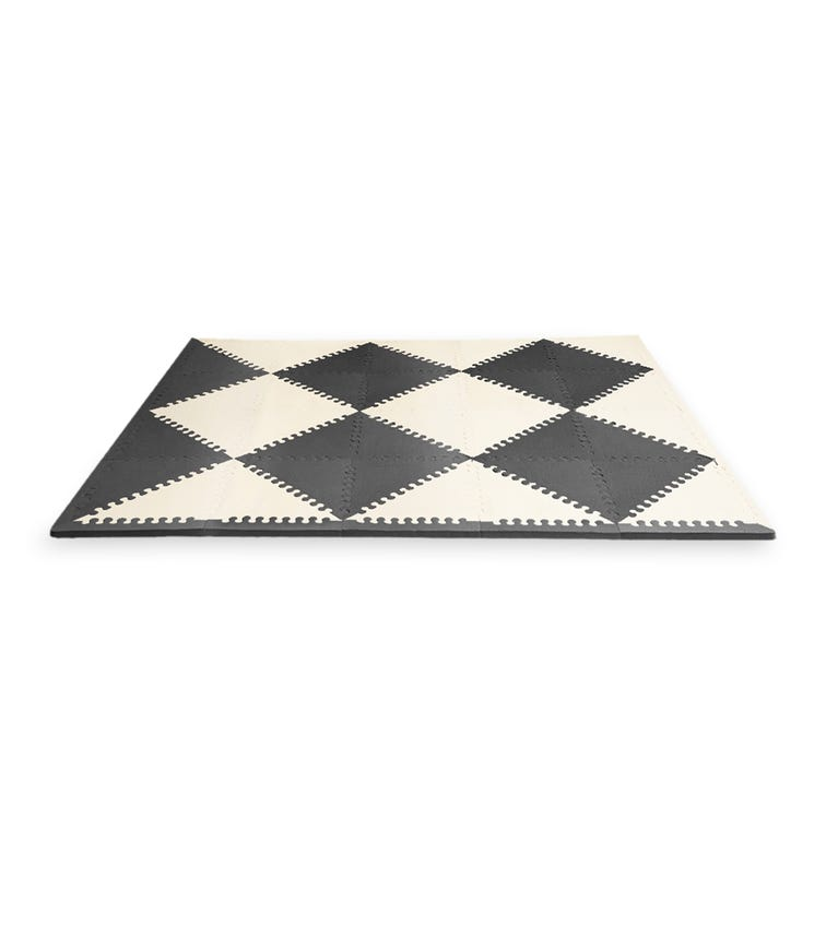 SKIP HOP Playspot Geo Floor Tiles Black & Cream