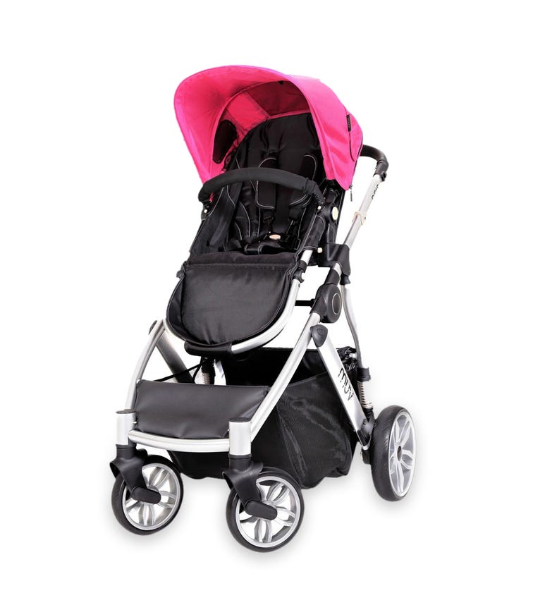 BABYTREND Muv Reis Stroller Arctic Silver Candy