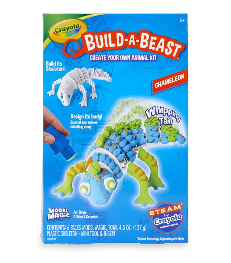 CRAYOLA Build-A-Beast Chameleon
