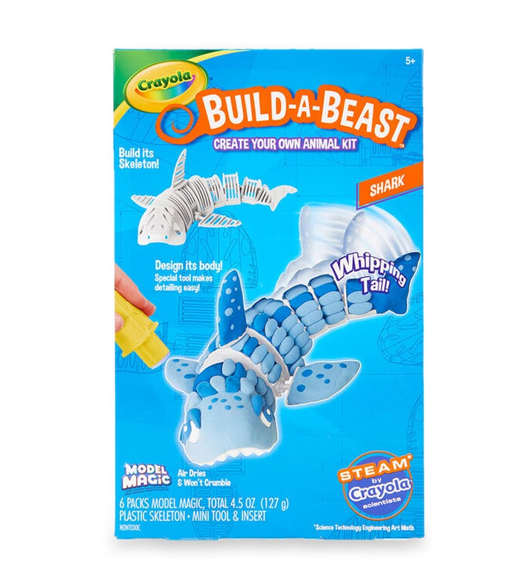 CRAYOLA Build-A-Beast Shark