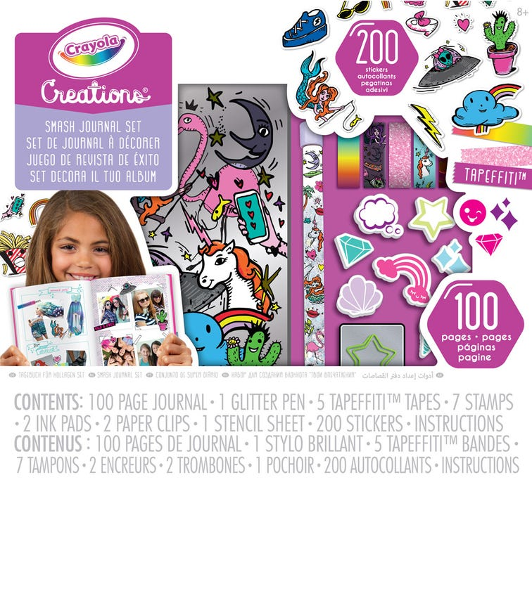 CRAYOLA Creations Smash Journal