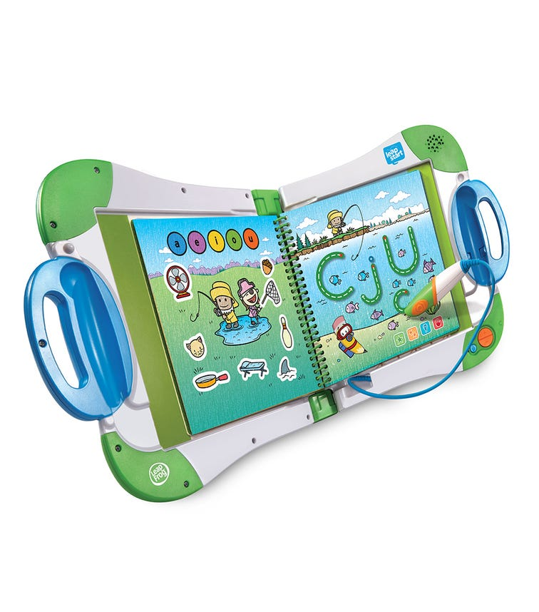LEAP FROG Leapstart Interactive Learning System Green