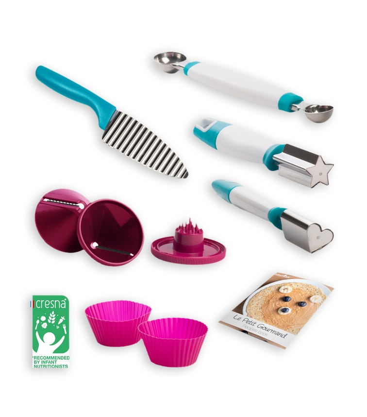 BABYMOOV Preparation Kit With Recipe Booklet Included