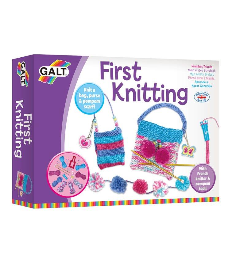 GALT First Knitting Kids Textile & Needle-Work Kits