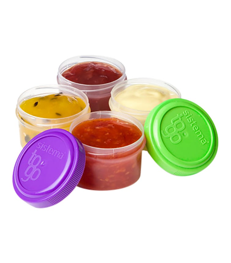 SISTEMA Dressing To Go 4 Pack (Assorted)