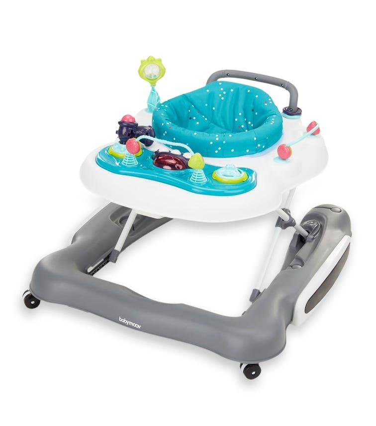 BABYMOOV - 5 In 1 Baby Walker (Push Toy, Swing, 360° Seat & Play Area)