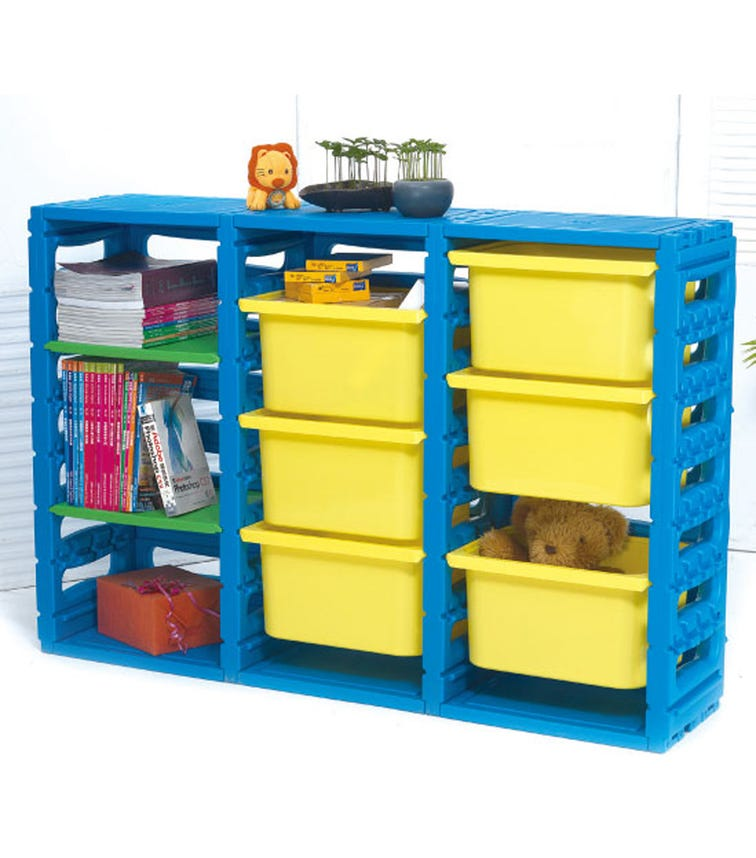 CHING CHING 3 Cabinet With 6 Drawers & 2 Plates
