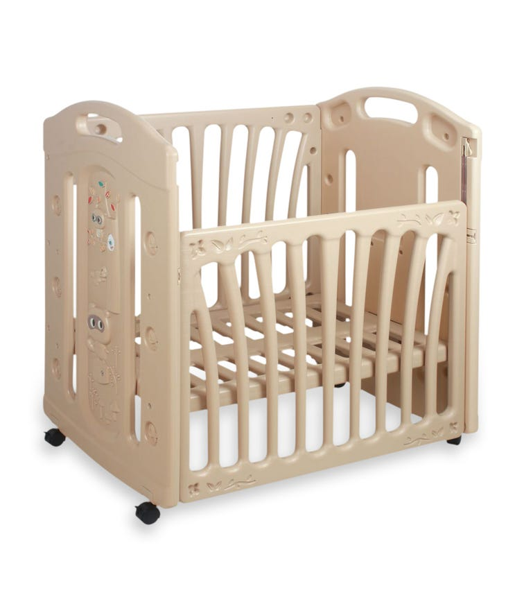 CHING CHING Raccoon Baby Bed (Includes Mattress)