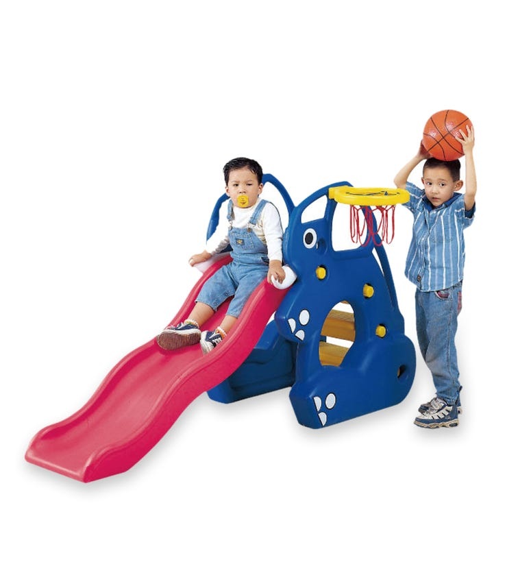 CHING CHING Elephant Slide + Basketball Set (137cm)