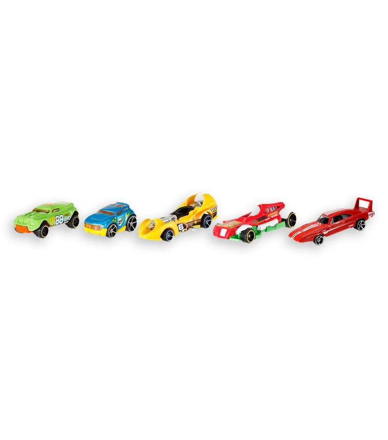 HOT WHEELS Basic 5-Pack Cars (Assorted)