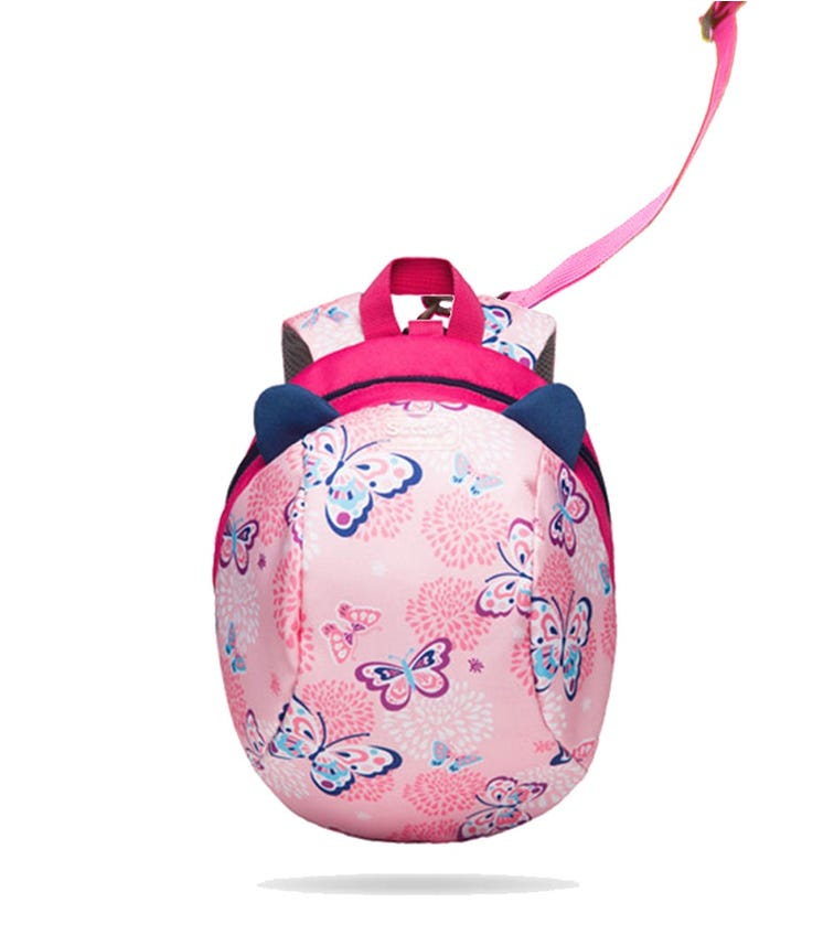 SUNVENO Kids Backpack - Butterfly Pink
