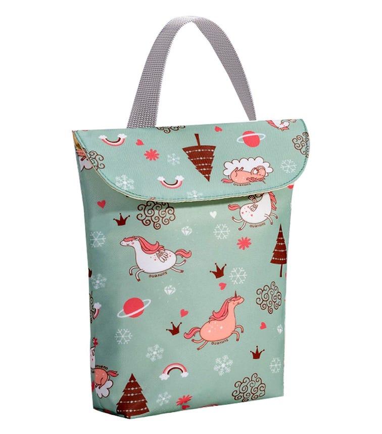 SUNVENO Diaper Organizer Wet/Dry Bag - Green