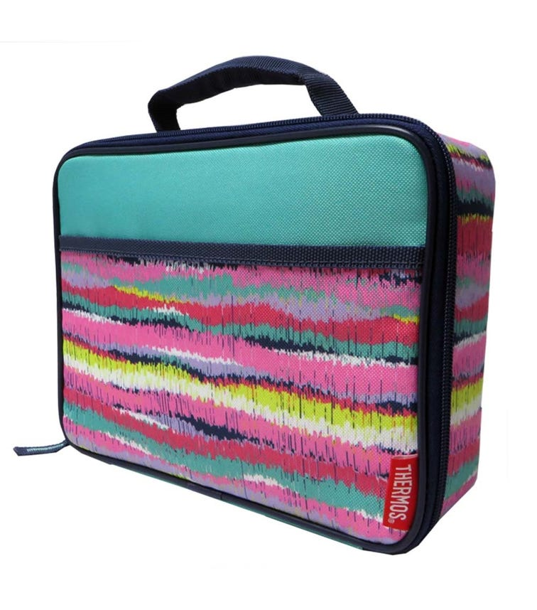 THERMOS  Standard Lunch Kit With LDPE Liner - Ikat Stripes Girl