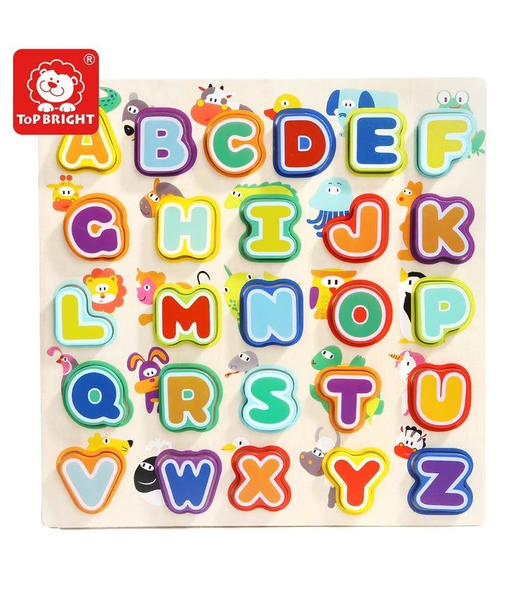 TOPBRIGHT Animals & Alphabets Puzzle