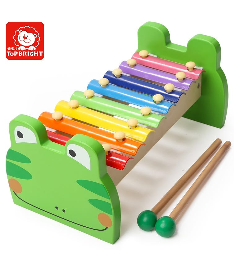TOPBRIGHT Frog Xylophone Green