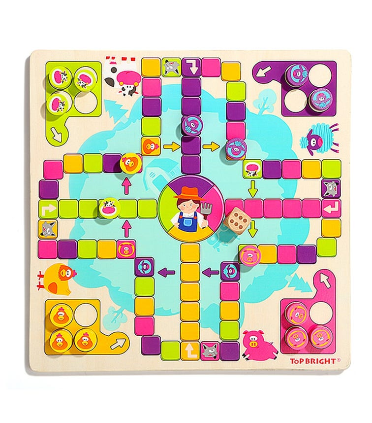 TOPBRIGHT Happy Farm Chess Game