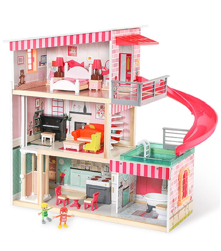 TOPBRIGHT Deluxe Doll House