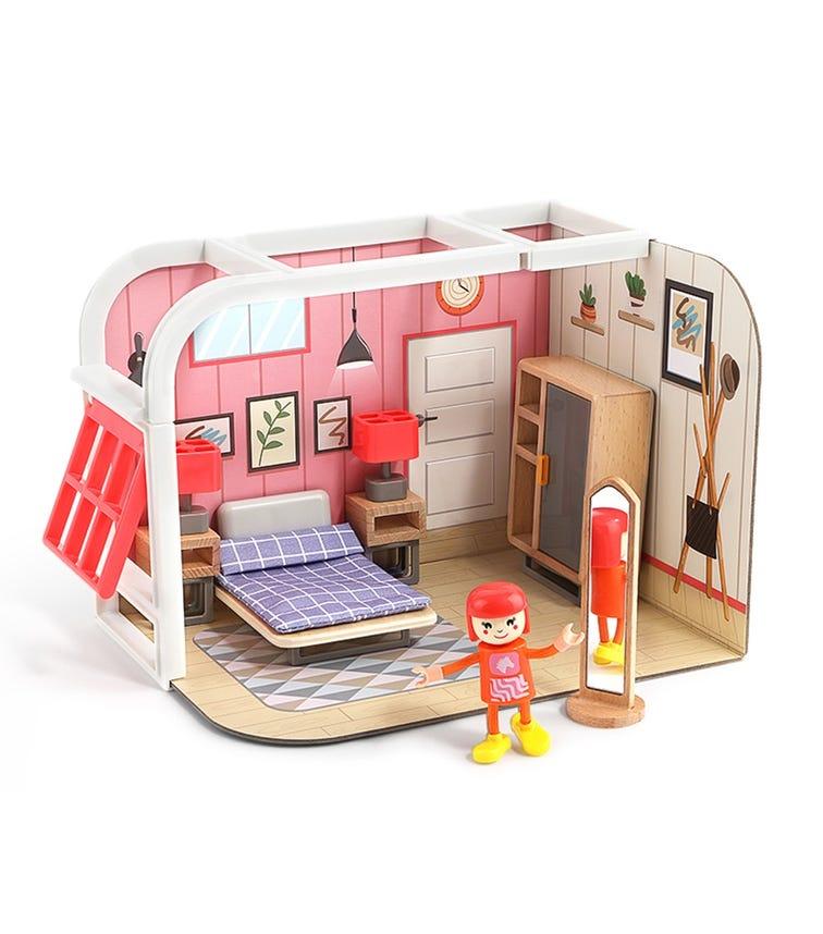 TOPBRIGHT Mini Doll House