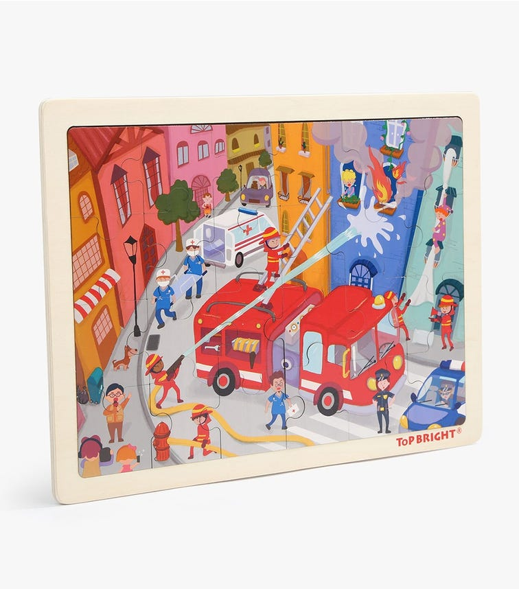 TOPBRIGHT Fire Fighting Puzzle