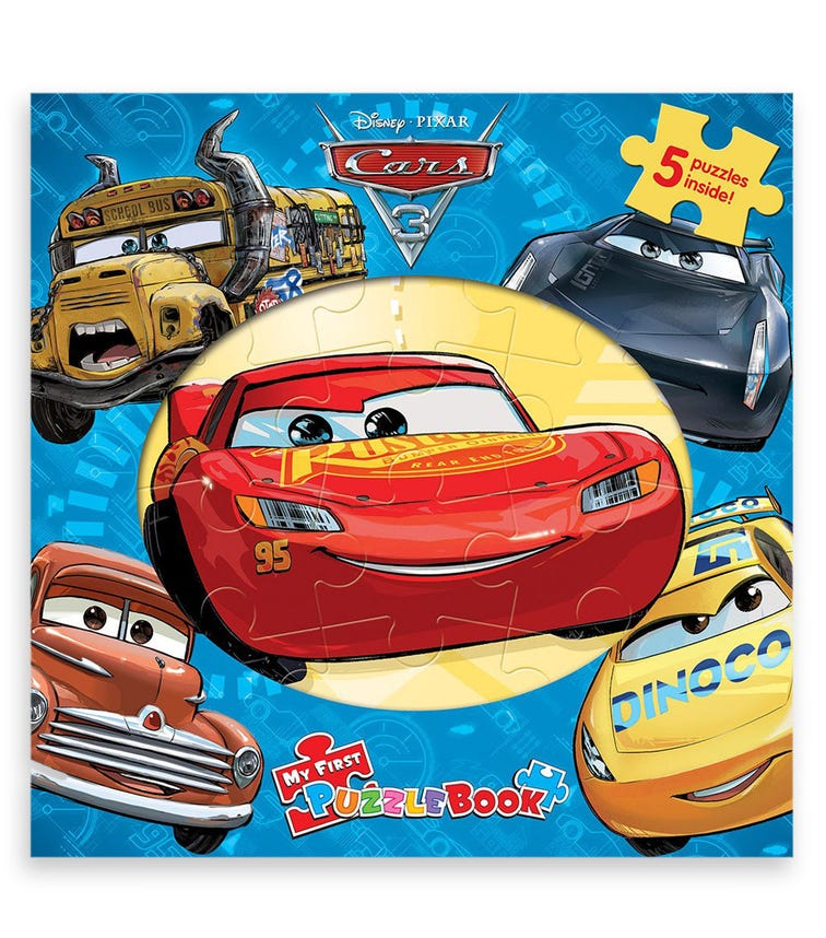 PHIDAL Disney Cars My First Puzzle Book