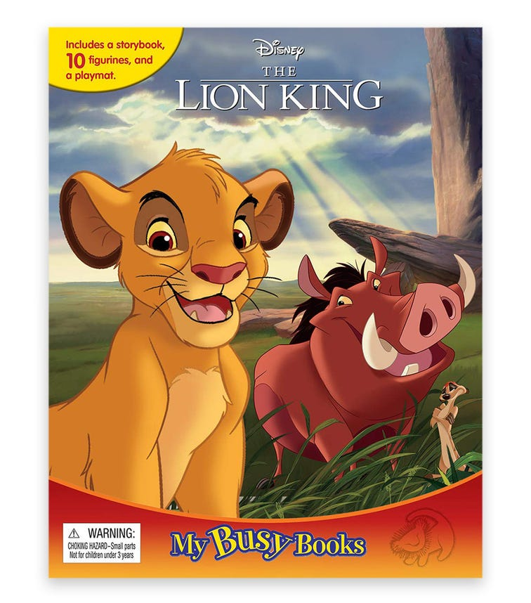 PHIDAL Disney Lion King My Busy Book