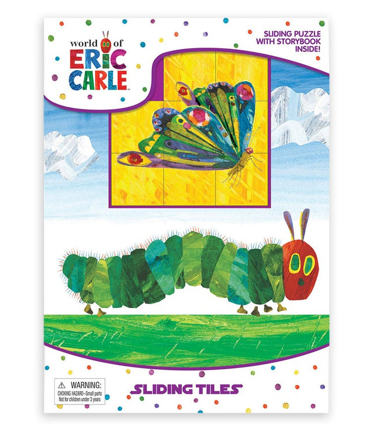 PHIDAL Eric Carle Sliding Tiles