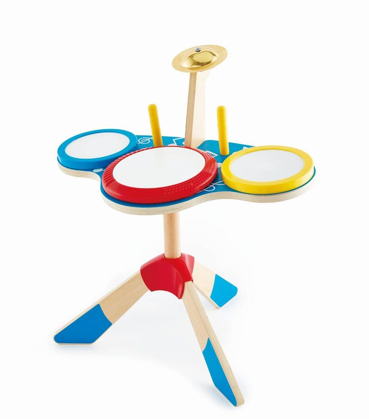 HAPE Drum And Cymbal Set