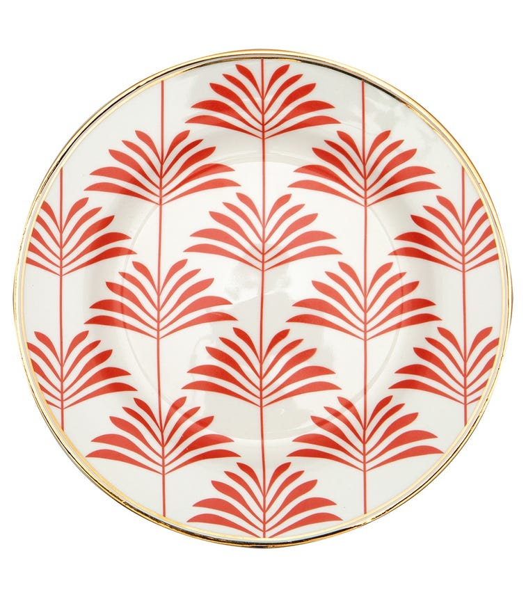 GREENGATE Plate Maxime - Coral