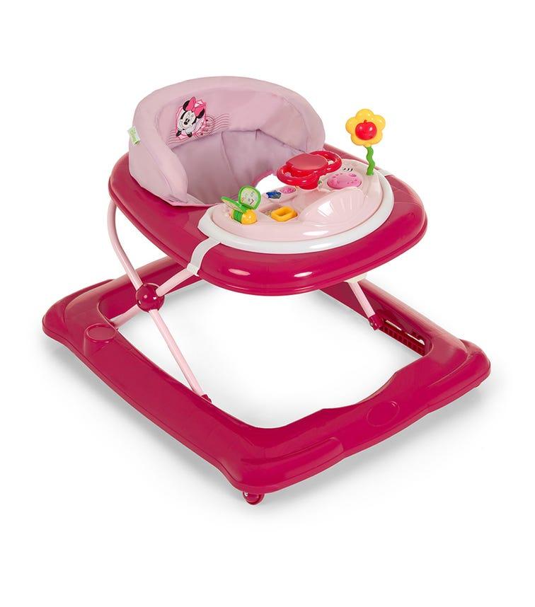 DISNEY Player Versus Minnie 14 Pink Baby Walker